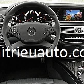 màn hình android xe mercedes S 550