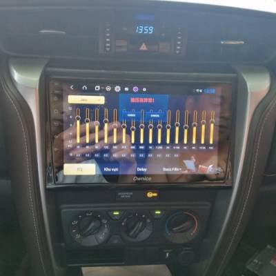 màn hình android  theo xe fortuner