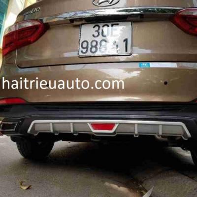 ốp chia đôi pô cho xe Hyundai I10 sedan
