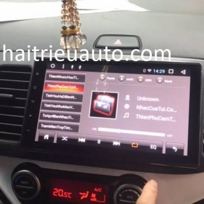 màn hình android Zulex theo xe kia morning