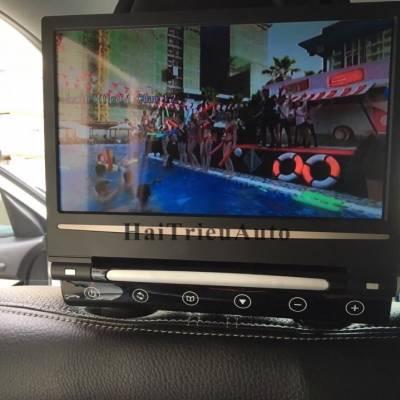 Lắp màn hình gối đầu sau cho xe sorento