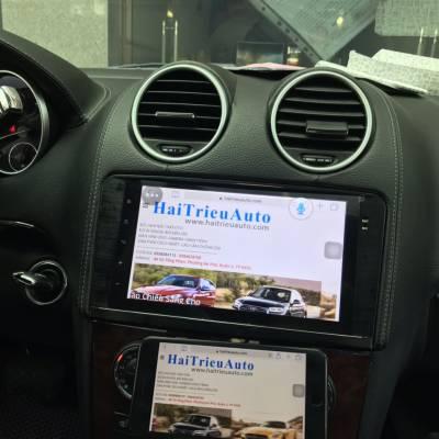 màn hình android theo xe mercedes GL 450