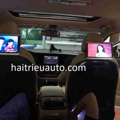 màn hình gối android lắp cho xe kia sedona