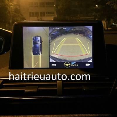 lắp camera 360 cho xe Peugeot 5008