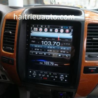 màn hình tesla theo xe Lexus GX470 2004-2009