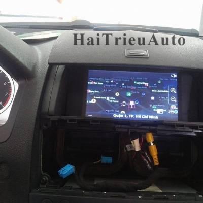 màn hình dvd theo xe Mercedes C200