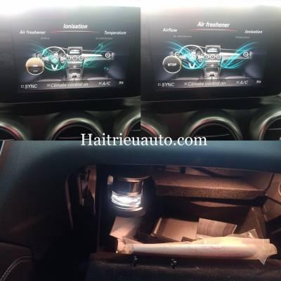 Hệ thống nước hoa Air freshener và Ionisation theo xe Mercedes GLC 200