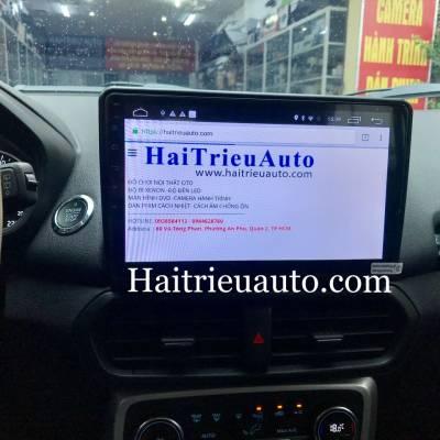 màn hình android theo xe ecosport 2018