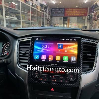 màn hình android Zestech theo xe triton 2019