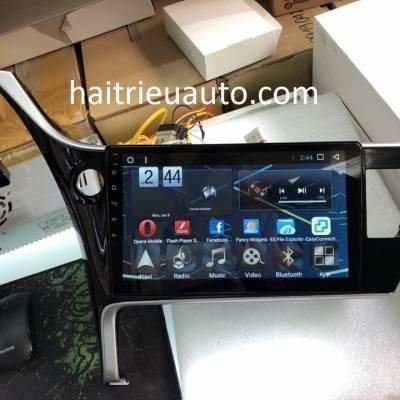 màn hình android theo xe altis 2018