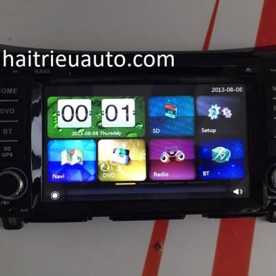 màn hình dvd cho xe nissan navara