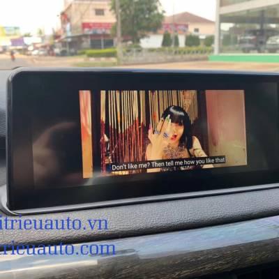 màn hình android theo xe BMW X5 2018