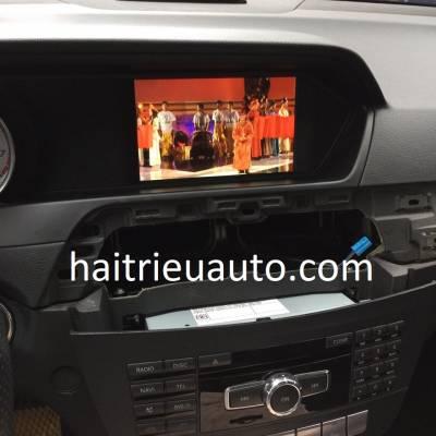 màn hình android xe mercedes C 300 2013