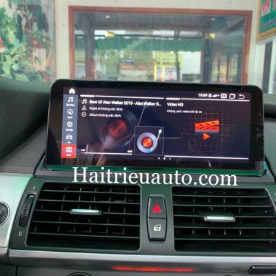 Màn hình android cho xe BMW X5