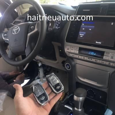 lắp startstop smartkey cho xe land cruiser prado 2018