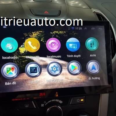 màn hình android cho xe colorado