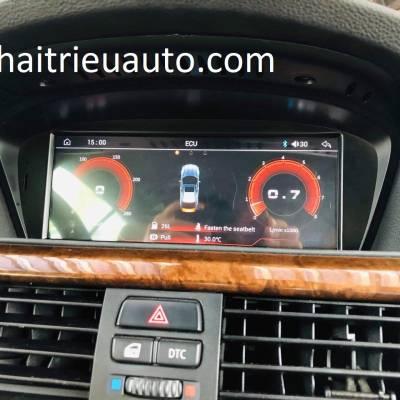 màn hình android theo xe BMW  328i