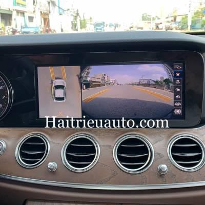 Camera 360 theo xe Mercedes E 200 2019