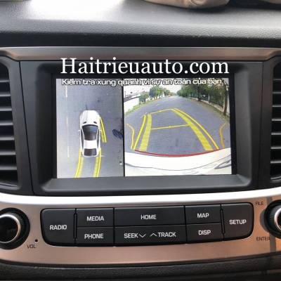 lắp camera 360 cho xe Hyundai Accent 2019