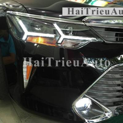 Đèn pha độ cho xe camry 2016