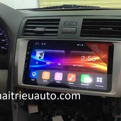 màn hình android zestech theo xe camry 2010