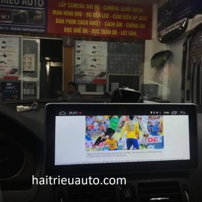 màn hình android theo xe mercedes C