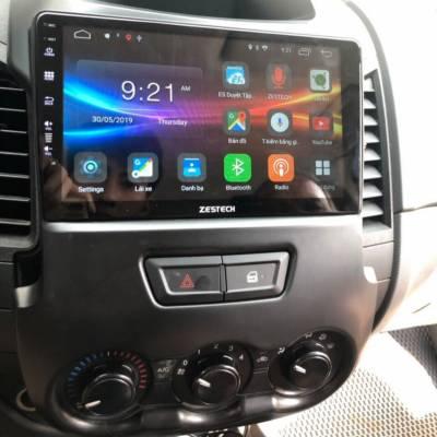 màn hình android zestech theo xe ford ranger 2013
