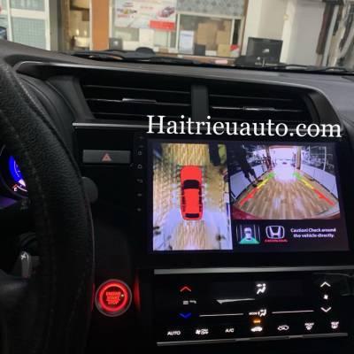 camera 360 cho xe Honda Jazz