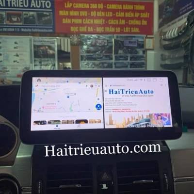 màn hình android theo xe mercedes GLK 250
