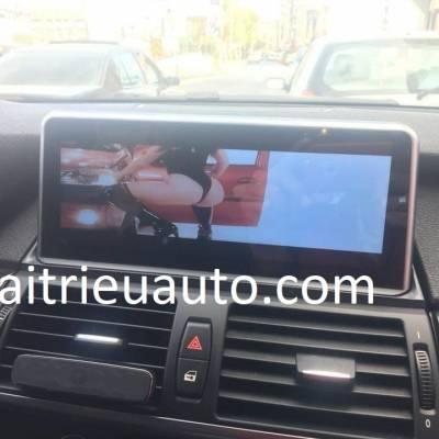 màn hình android theo xe BMW X6