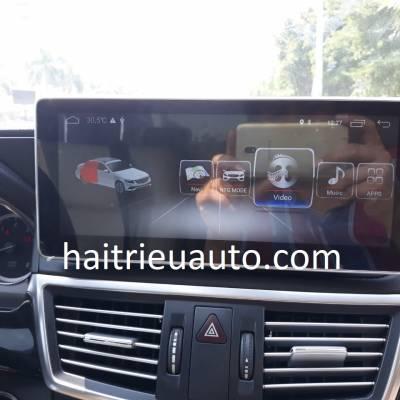 màn hình android theo xe mercedes E 250