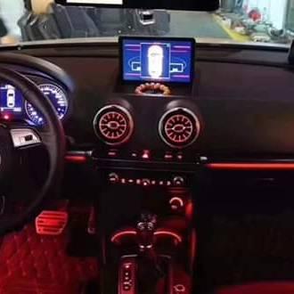 led nội thất xe audi A3