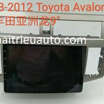 màn hình android theo xe toyota Avalon