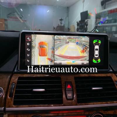 camera 360 cho xe BMW X6
