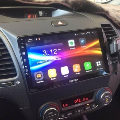 màn hình android zestech theo xe kia k3