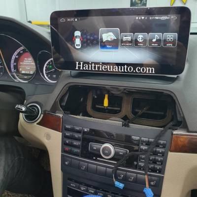 Màn hình android theo xe Mercedes E350