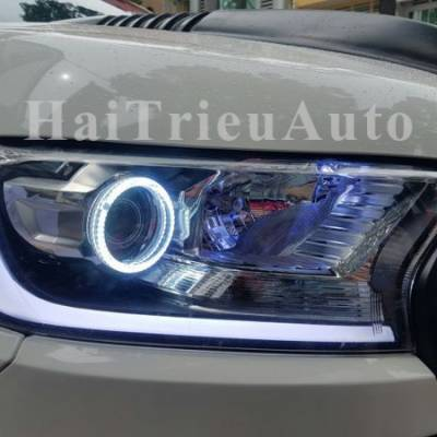 Đèn pha độ cho xe ford ranger