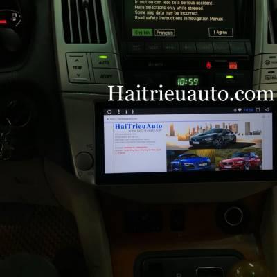 Màn hình android theo xe Lexus RX350 2007
