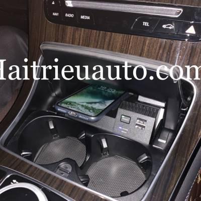 Sạc điện thoại không dây theo xe Mercedes C