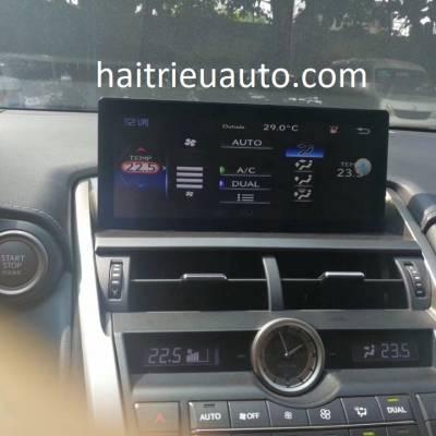 Màn hình android theo xe Lexus NX200T