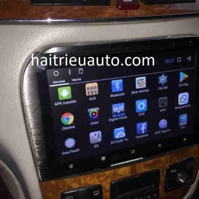 màn hình android cho xe mercedes S 350