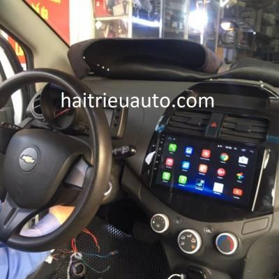 màn hình android theo xe spark