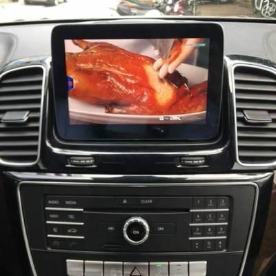 màn hình android theo xe mercedes V220