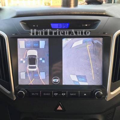 Lắp camera 360 độ cho xe HYUNDAI CRETA