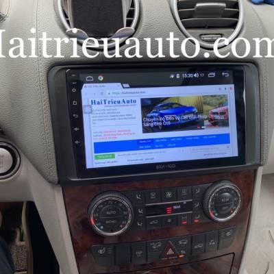 màn hình android xe mercedes GL