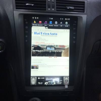 màn hình android tesla theo xe lexus GS300