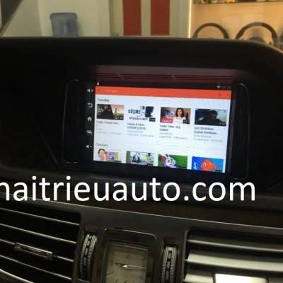 Màn hình android theo xe Mercedes E 300 2013