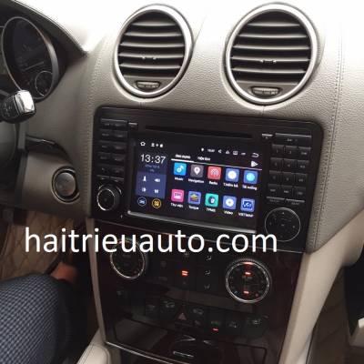 màn hình android xe mercedes GL 550