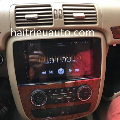 màn hình android theo xe mercedes R 350