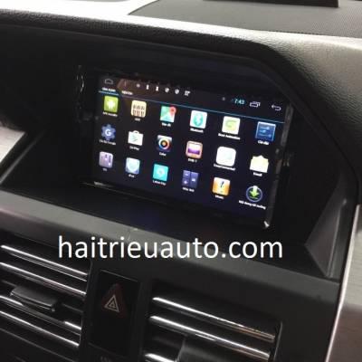 màn hình android cho xe mercedes GLK 2010